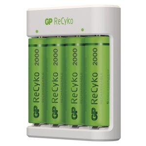 Nabíjačka batérií GP B51414 Eco + 4xAA ReCyko