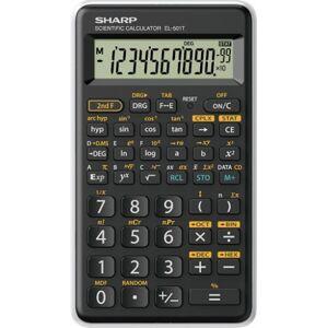 Vedecká kalkulačka Sharp EL-501TWH, 146 funkcií, 1 riadok, kryt