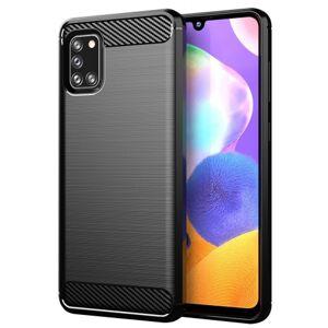 Zadný kryt pre Samsung Galaxy A31, Carbon, čierna